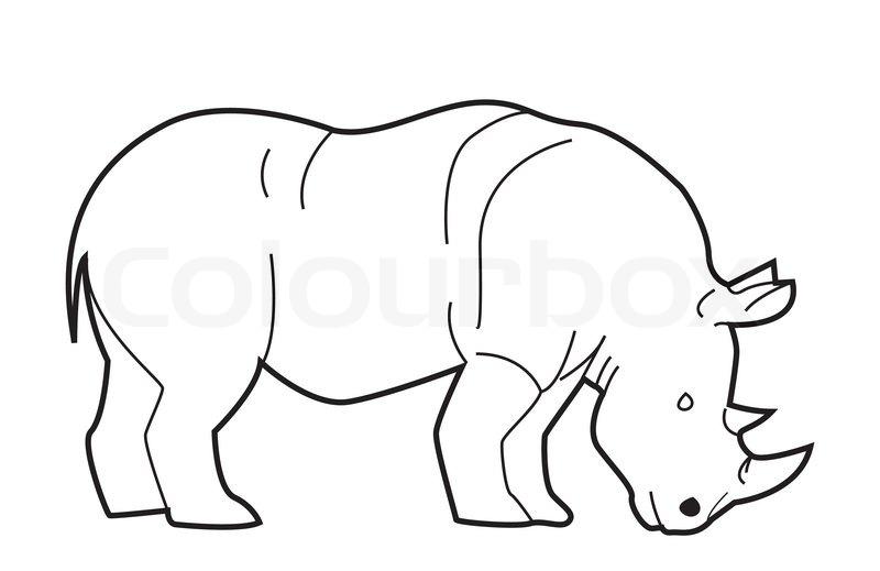 tegninger af næsehorn