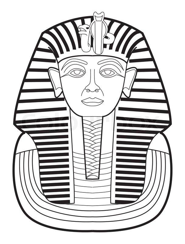 Pharaoh Stock Vector