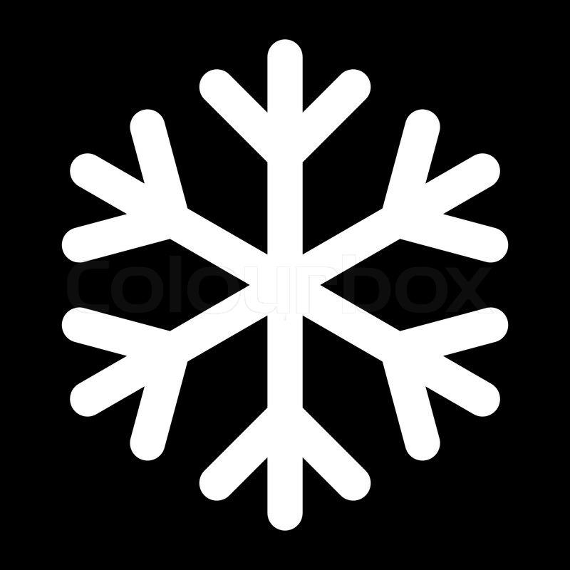 Icon - christma... White Snowflake Icon