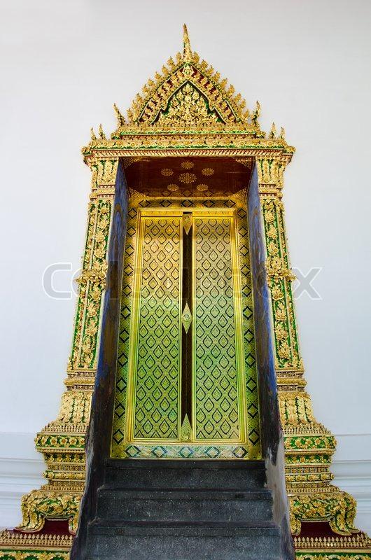 & Traditional Thai door | Stock Photo | Colourbox Pezcame.Com