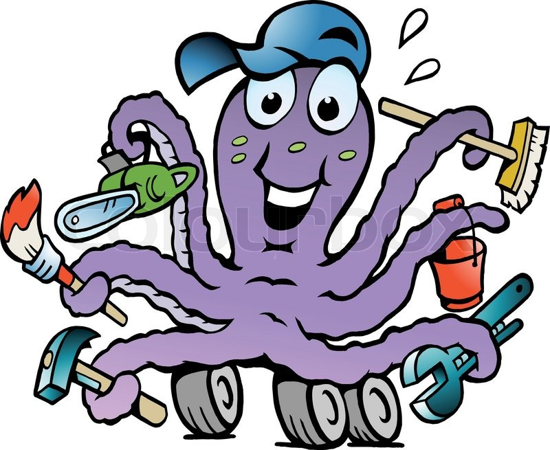 Cheerful Octopus 76
