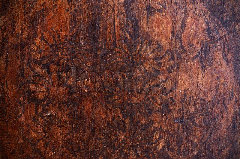 Antique wood texture