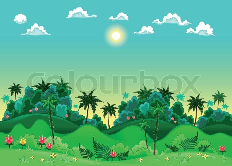Animated Jungle Backgrounds  Shareware Junction