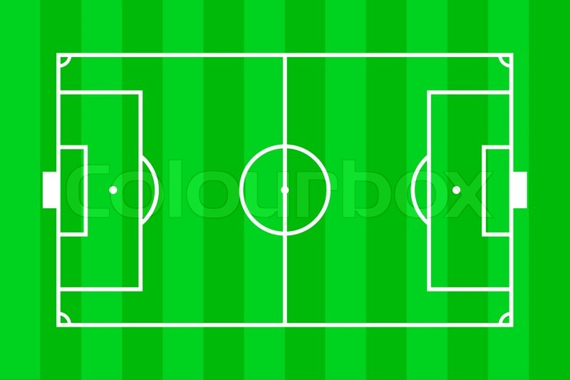 Soccer field layout stock photo colourbox ccuart Gallery
