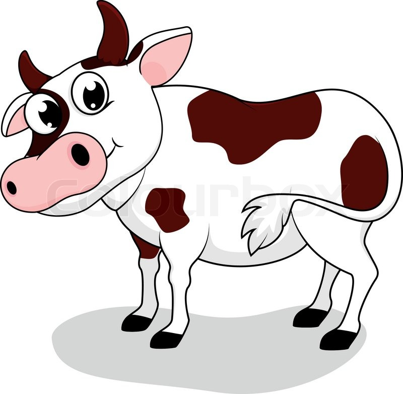 Großzügig Färbendes Bild Einer Kuh Ideen - Malvorlagen-Ideen ...