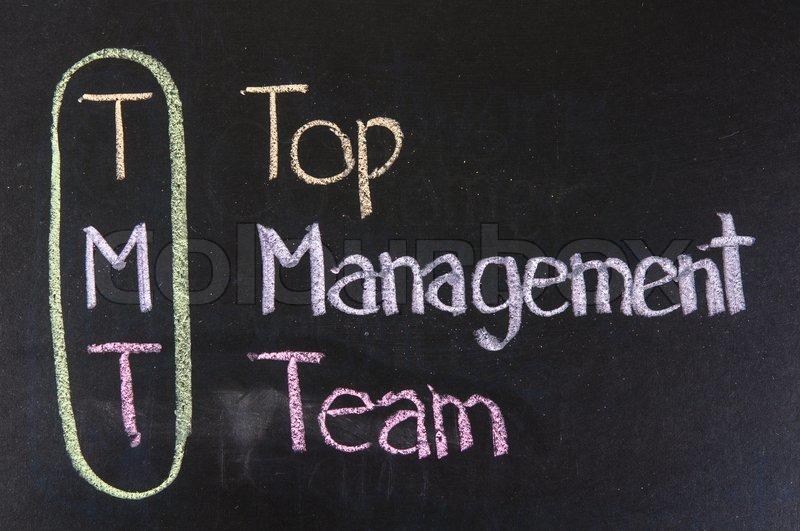 Top Management S01 E06: TMT Acronym Top Management Team