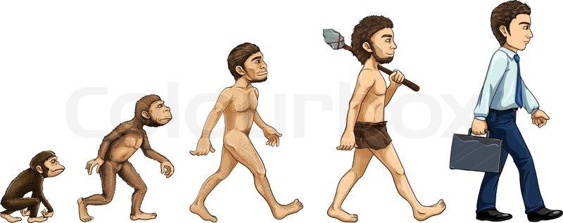 evolution of a man essay