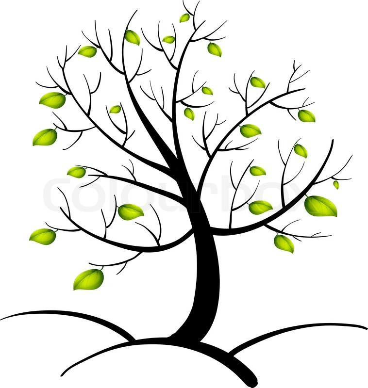 Fingerabdruck Baum Vorlage Andere Motive 8 3
