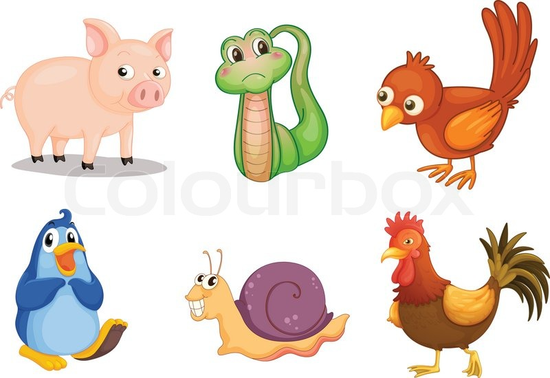 Stock vector of 'Animal series'
