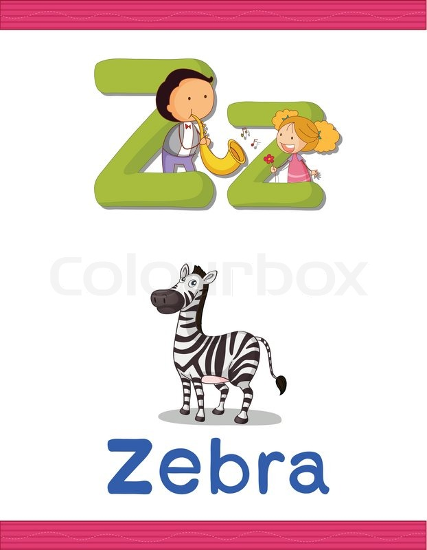 Erfahren Alphabet Arbeitsblatt   Vektorgrafik   Colourbox