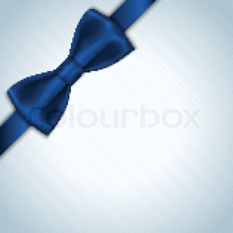 Blue Christmas Bow Transparent Background Blue Bow Background Vector