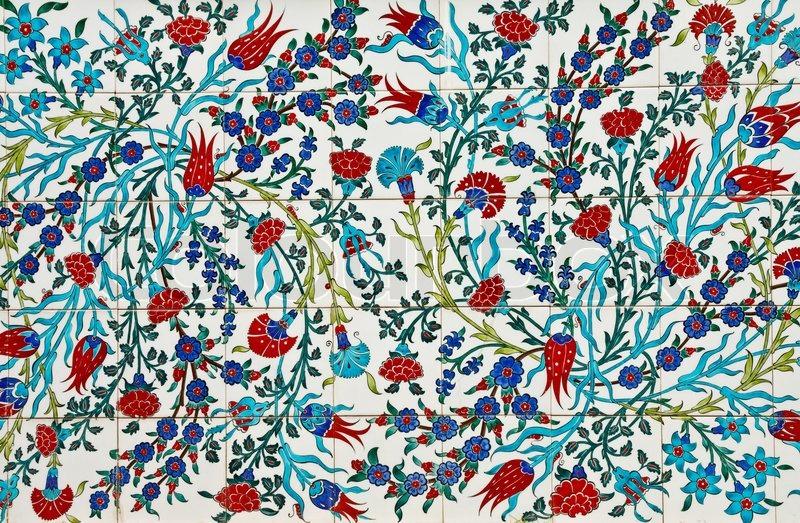 Pattern Of Turkish Native Style Wall Stock Photo Colourbox Cool Turkish Pattern