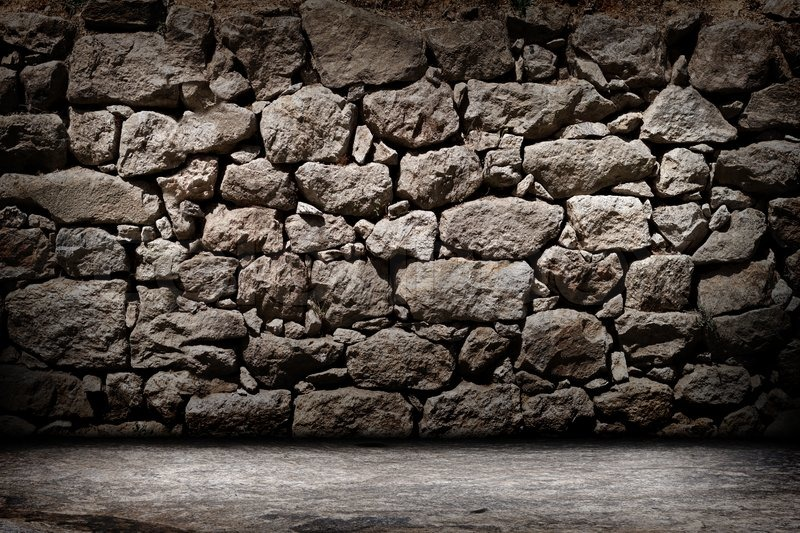 Stone Wall Texture Stock Photo Colourbox