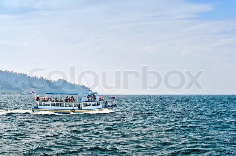Boat at Koh Ngai Island Trang