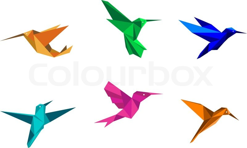 Fold an Origami Hummingbird in 12 Easy Steps | Quarto Knows Blog | 480x800