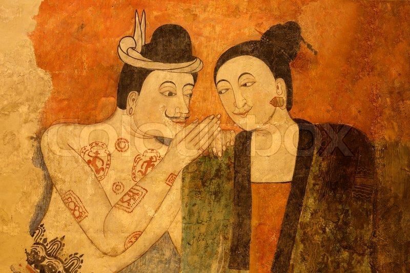 Painting Famous Thai Art
