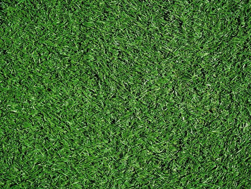 Artificial Grass Field Top View Texture Stock Photo