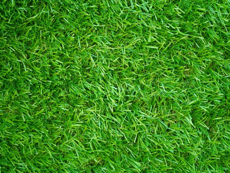 Stock image of 'Artificial Grass Field Top View Texture'
