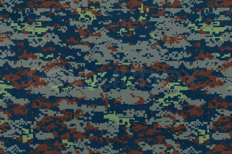 Stock image of 'Thai air force digital camouflage fabric texture background'