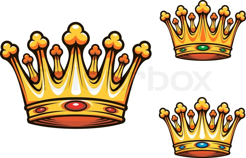 Royal king crown stock vector colourbox thecheapjerseys Choice Image