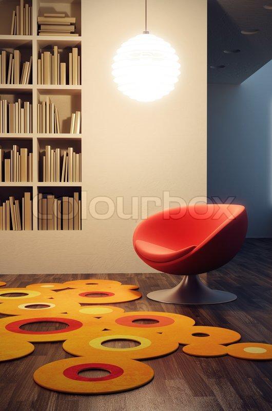 Stock Bild Von Pop Art Stil Der Wohnzimmer