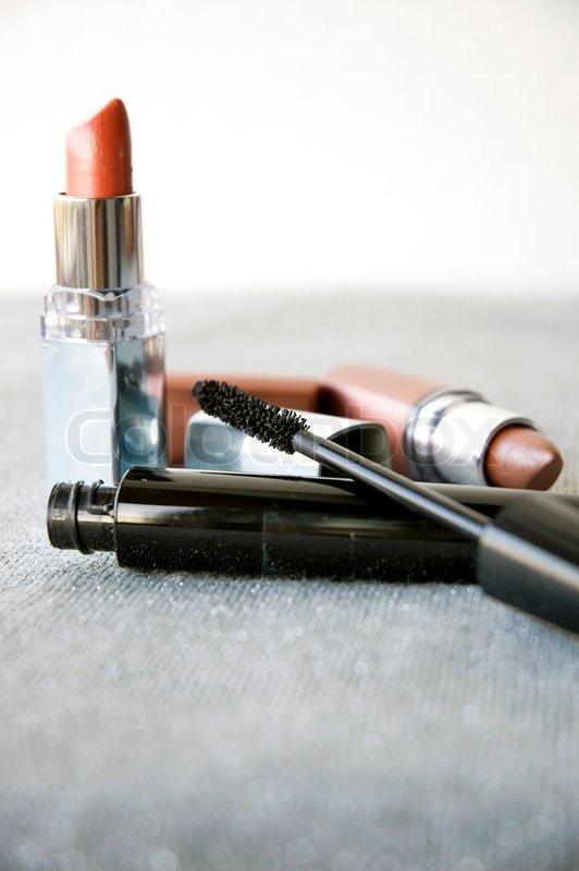 Lady cosmetics, stock photo