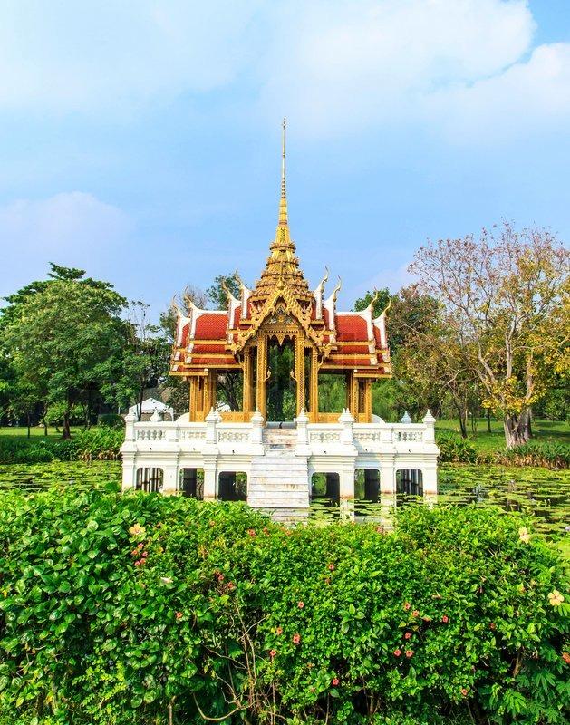 Pavilion thai royal, stock photo