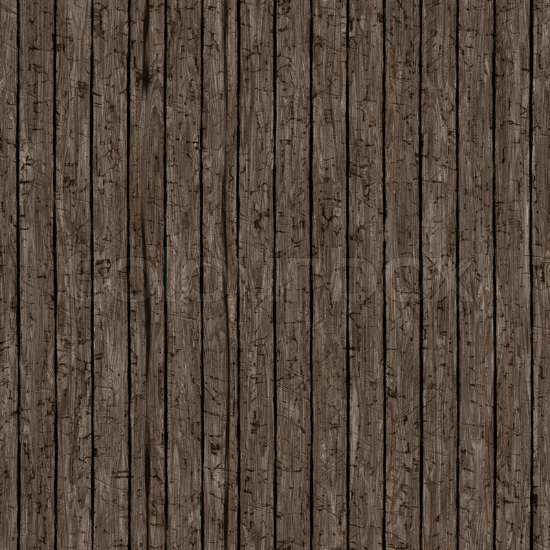 Seamless Closeup Of Old Wood Planks Stock Photo