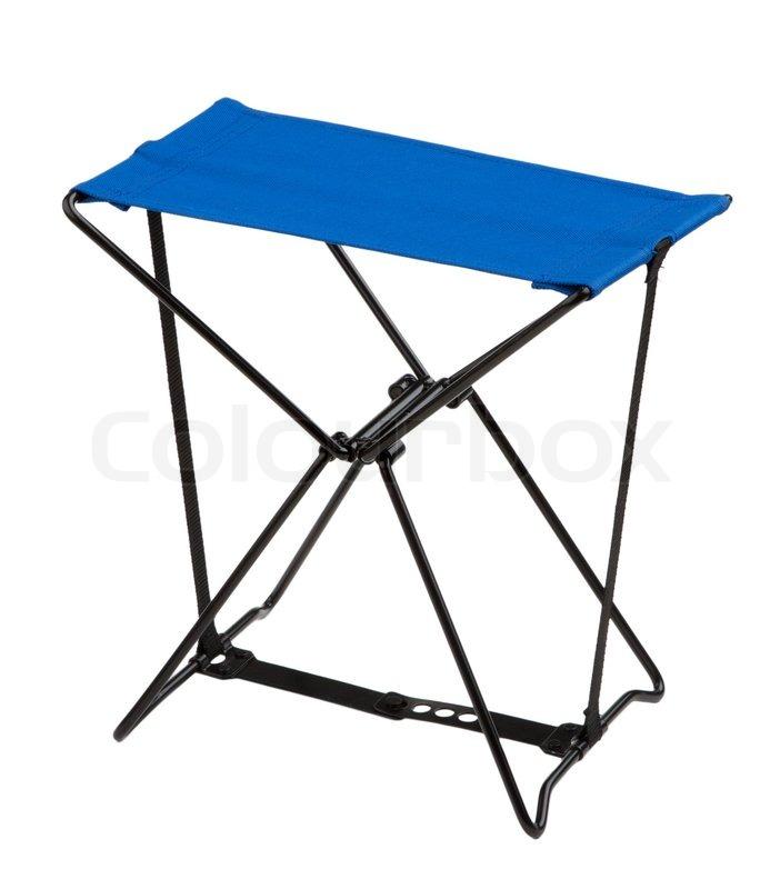 Fabelaktig Nice- blå camping stol til udendørs | Stock foto | Colourbox IG-68