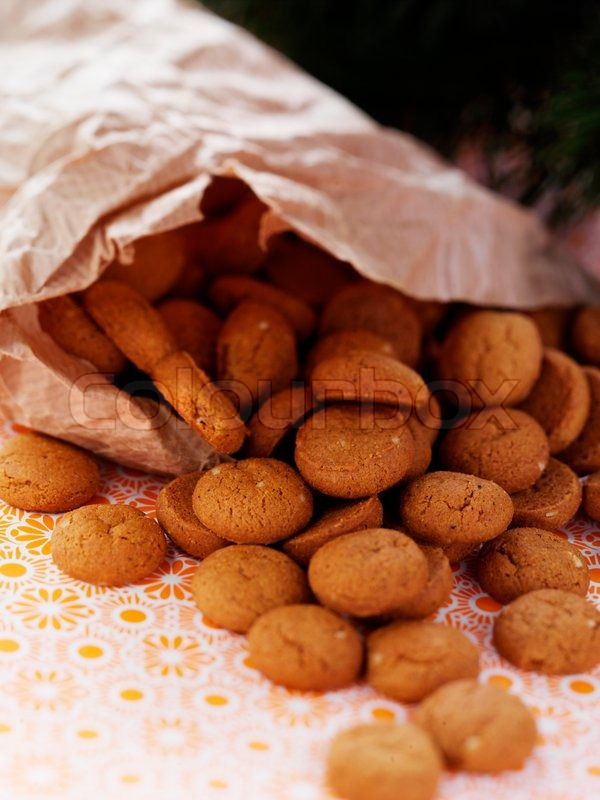 Traditional Danish Christmas Cookies Stock Image Colourbox