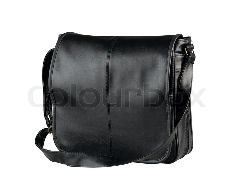 Nice and smart haversack bag in black color made of ...