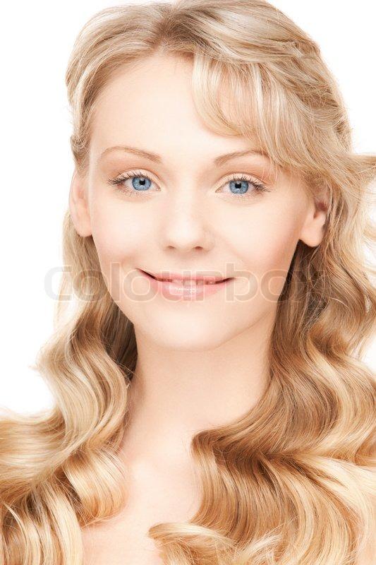 Schöne Frau mit langen Haaren | Stock Bild | Colourbox
