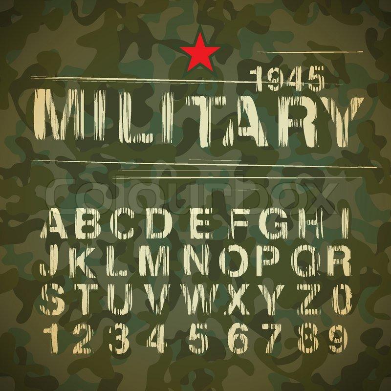 militær alfabet