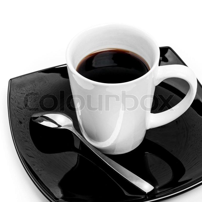 sorte kaffekrus