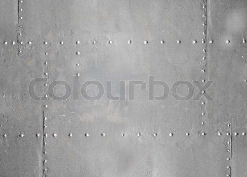 Abstract Detailed Gray Metal Wall Background Texture With