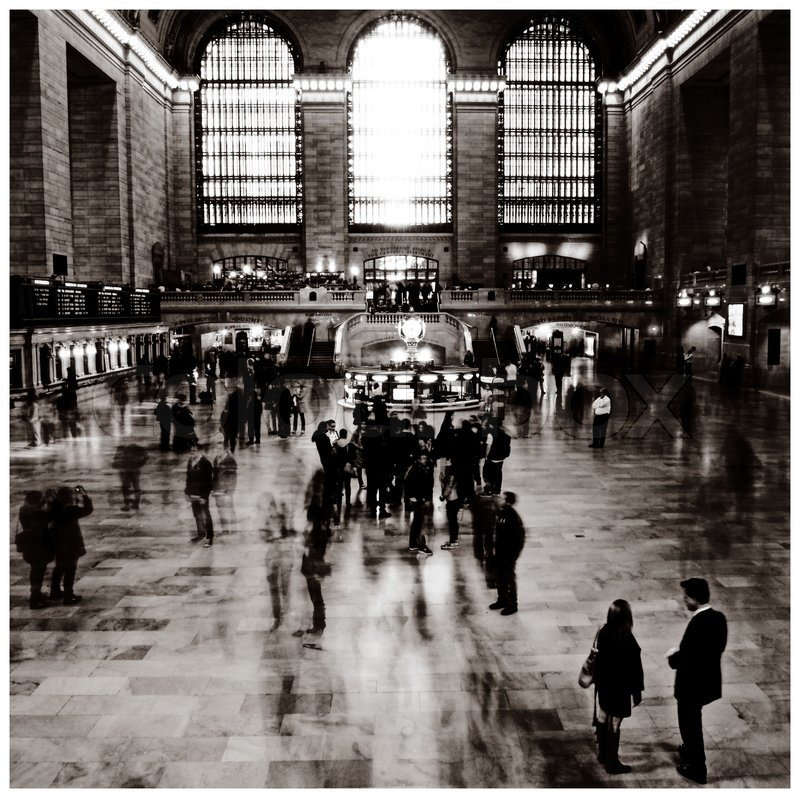 Nyc Grand Central Station Stock Photo Colourbox