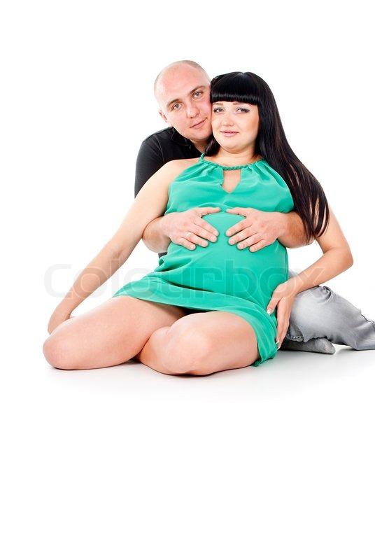 Беременная женщина обнимала во сне