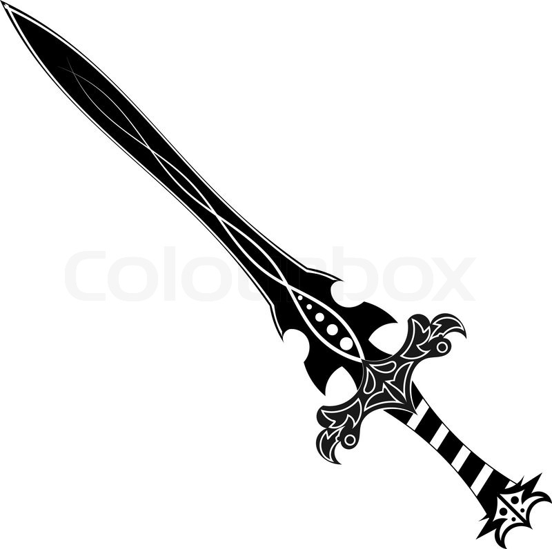 Cool Skull Logos With Guns Schwert Tattoo | Vekto...