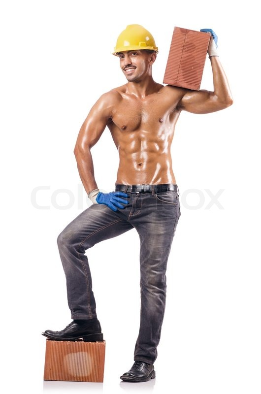 Sexy Bauarbeiter