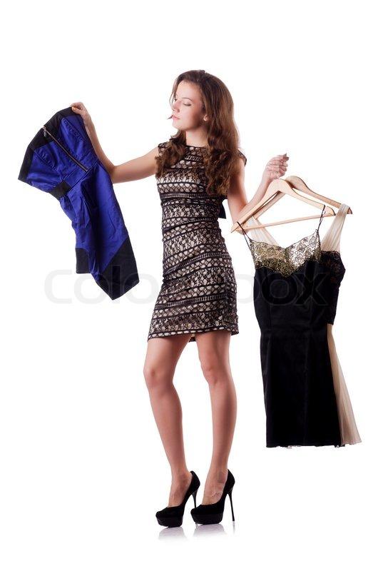 как можно видео девушка меряет платье ведь уже молодая