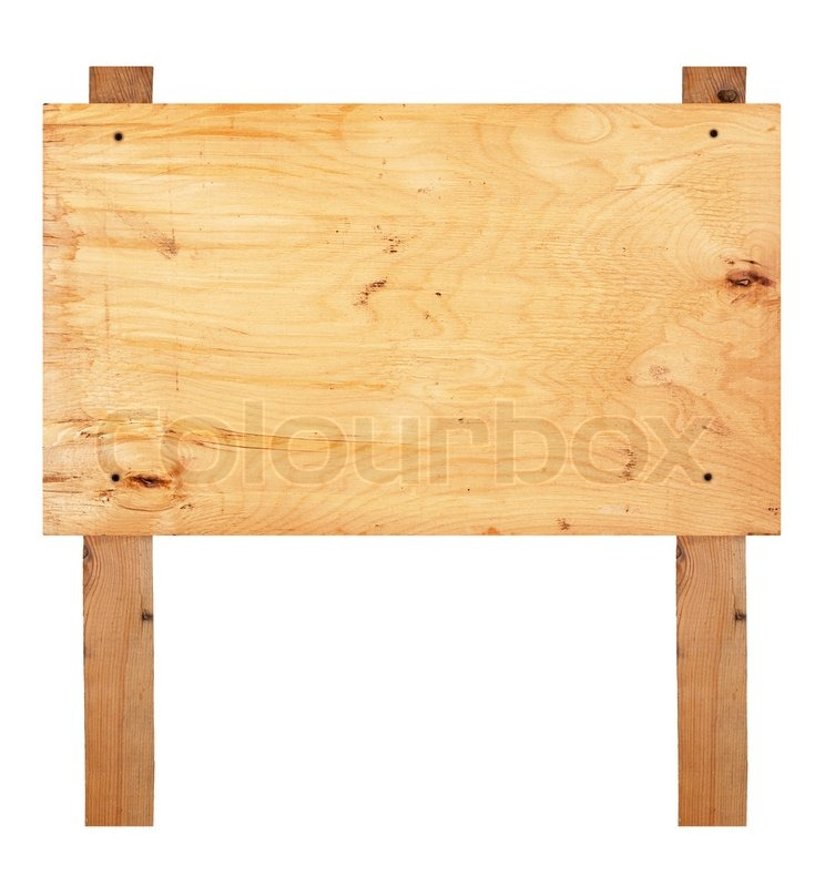 Blank Wooden Sign Board Wooden Sign Board