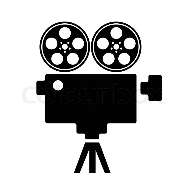 Old Fashioned Movie Film Clipart