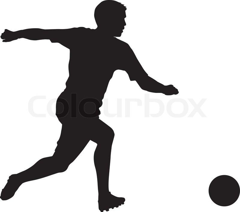 Fußball | Vektorgrafik | Colourbox