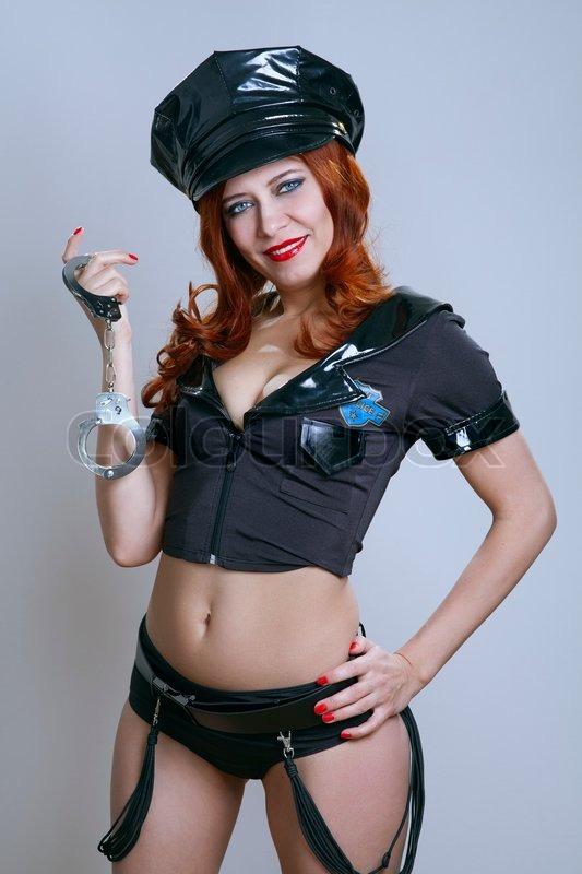 Sexy hot police woman