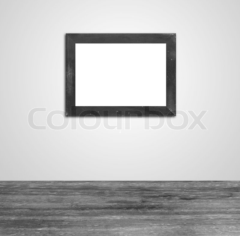 Interior Bilderrahmen an der Wand | Stockfoto | Colourbox