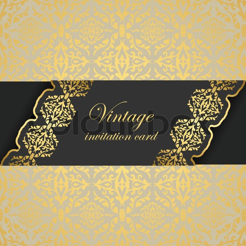 vintage elegant background  beautiful greeting  invitation