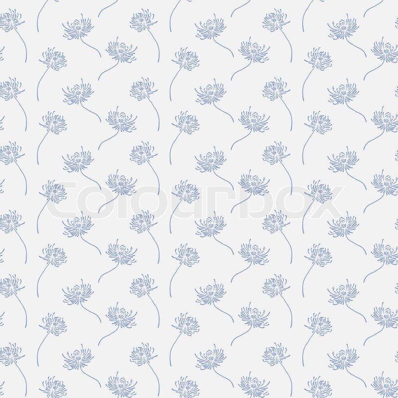 hand gezeichnet floralen tapeten mit einem satz von. Black Bedroom Furniture Sets. Home Design Ideas