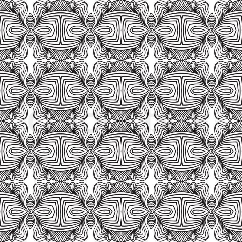 Geometric art deco mod...