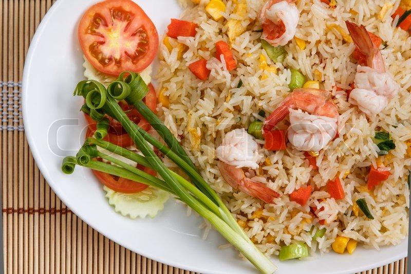 stegte ris rejer