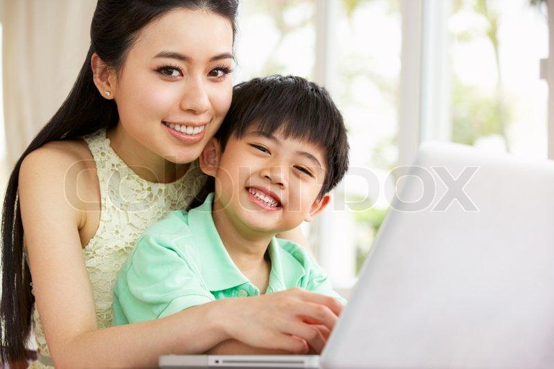 China japanese mom